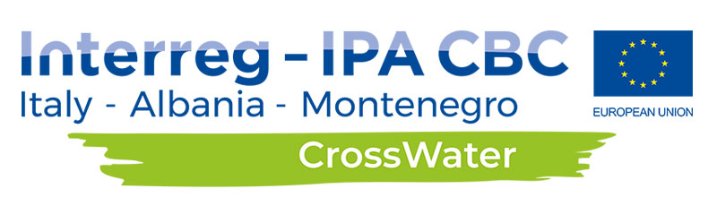 CrossWater project logo